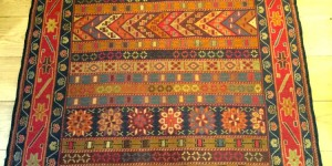 Afghan Needle point