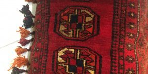 Afghan Bolesk Cushion