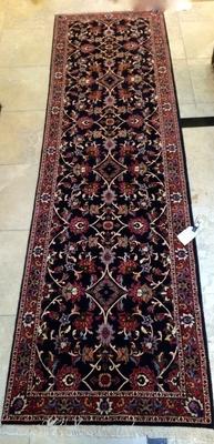 Part Silk Bidjar Persian Runner