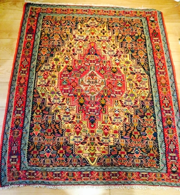 Beautiful Persian Senneh Kilim